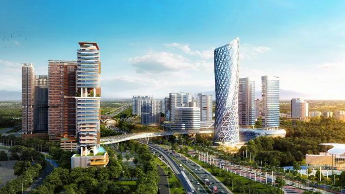 REPUBLIKA.CO.ID Kawasan Adhi City Sentul Capai Rp 16 Triliun